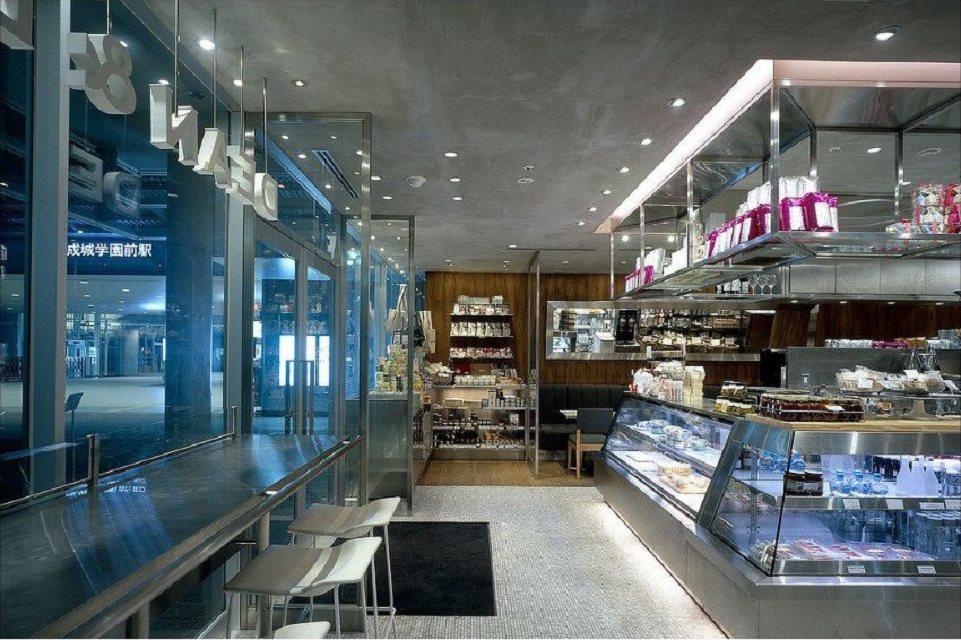 重庆准点装修公司项目案例工装-DEAN & DELUCA连锁甜品