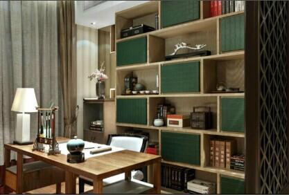 重庆准点装修公司项目案例新中式风格-国奥村