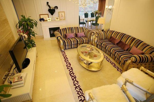 重庆品瑞装修公司项目案例品瑞装饰-欧式风格的二居室