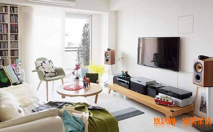 重庆九翔装修公司项目案例龙湖u城天街89㎡北欧混搭风格