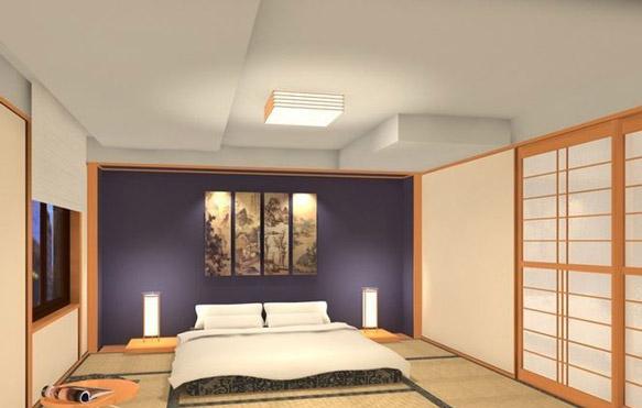 日式卧室效果图