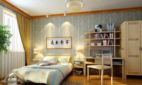 中式儿童房效果图