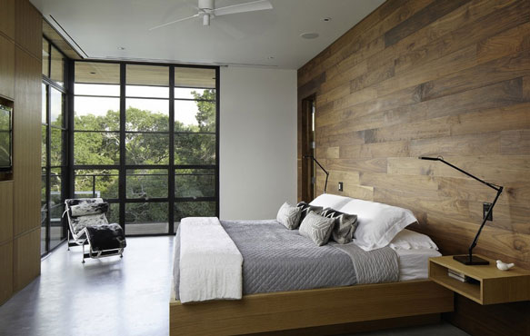 现代卧室三室效果图