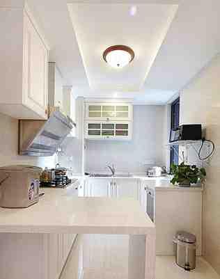 现代小户型厨房装修效果图