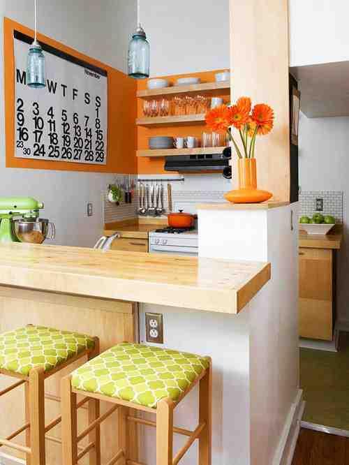 8平米简约一室厨房装修效果图