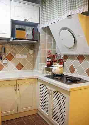 田园小户型厨房装修效果图