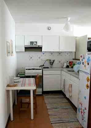 混搭小户型厨房装修效果图