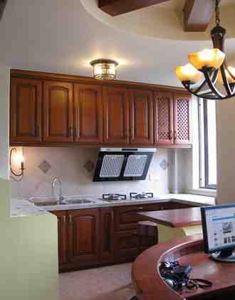 欧式小户型厨房效果图