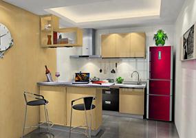 简约四室厨房效果图