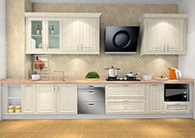 现代欧式大户型厨房效果图