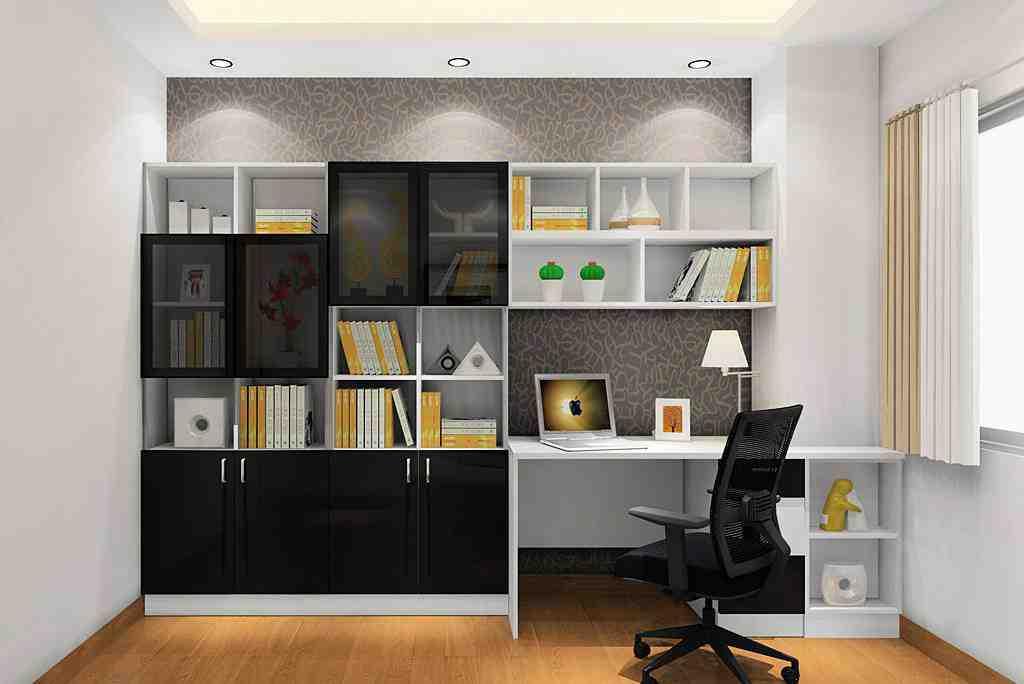 8平米简约小户型书房效果图