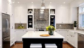 后现代三室厨房效果图