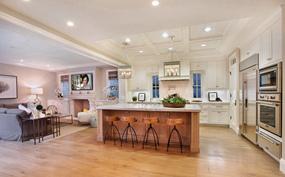 欧式三室厨房效果图