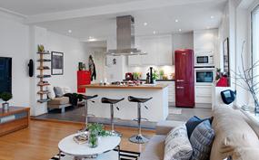 现代三室厨房效果图
