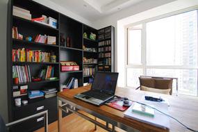 混搭大户型书房效果图