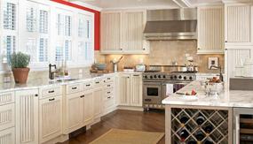 欧式大户型厨房效果图