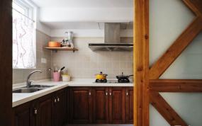 新中式两室厨房效果图