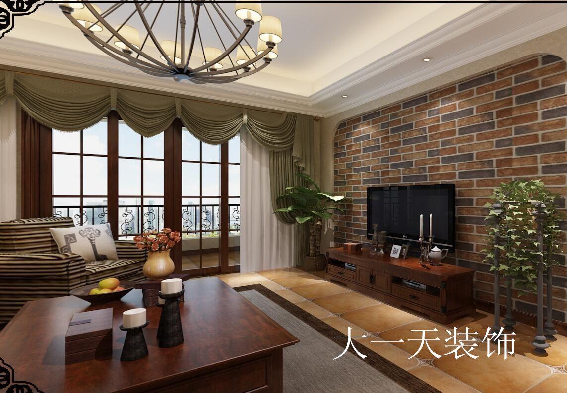 重庆新焕新装饰公司项目案例【东原D7】现代美式