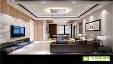 未来方舟现代简约风格案例/四室两厅两卫/150/总价:19万元