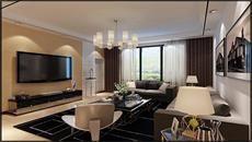 富中蝴蝶谷132平现代风格/3室2厅1卫/132/总价:17万元