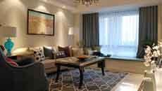中德英伦联邦120平米简欧风格装修案例/三室两厅一卫/120/总价:12万元