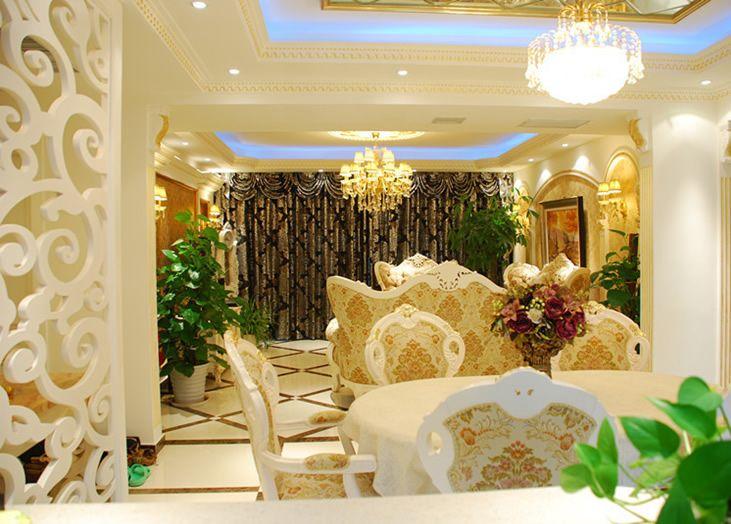 重庆齐家典尚装修公司项目案例奢华大气的欧式风格