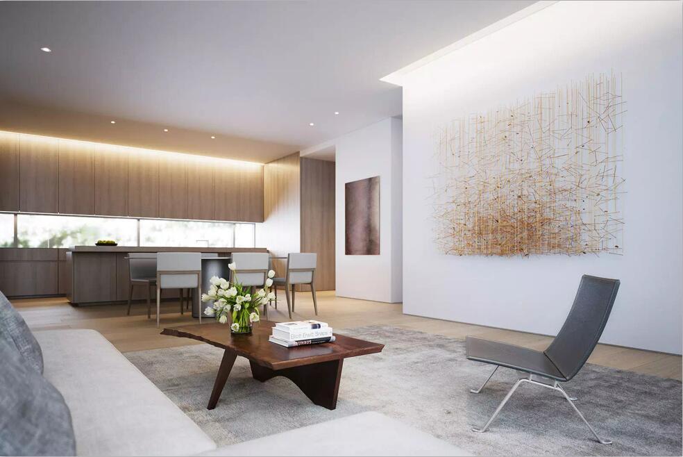 重庆视觉色装饰公司项目案例长安丽都  极简中式