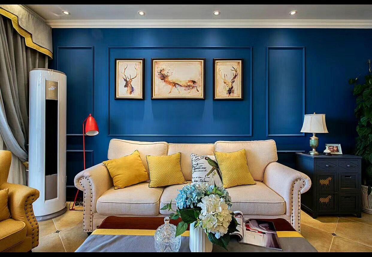重庆齐家典尚装修公司项目案例和泓江山国际-美式风格