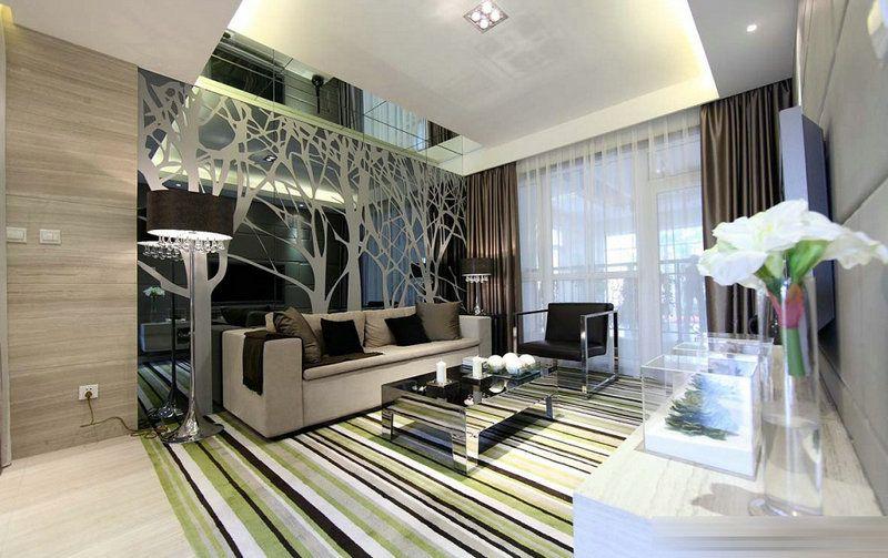 重庆交换空间装饰公司项目案例现代风格