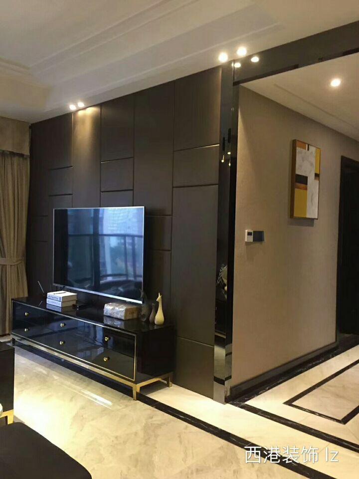 重庆西港装饰公司项目案例保利花半里