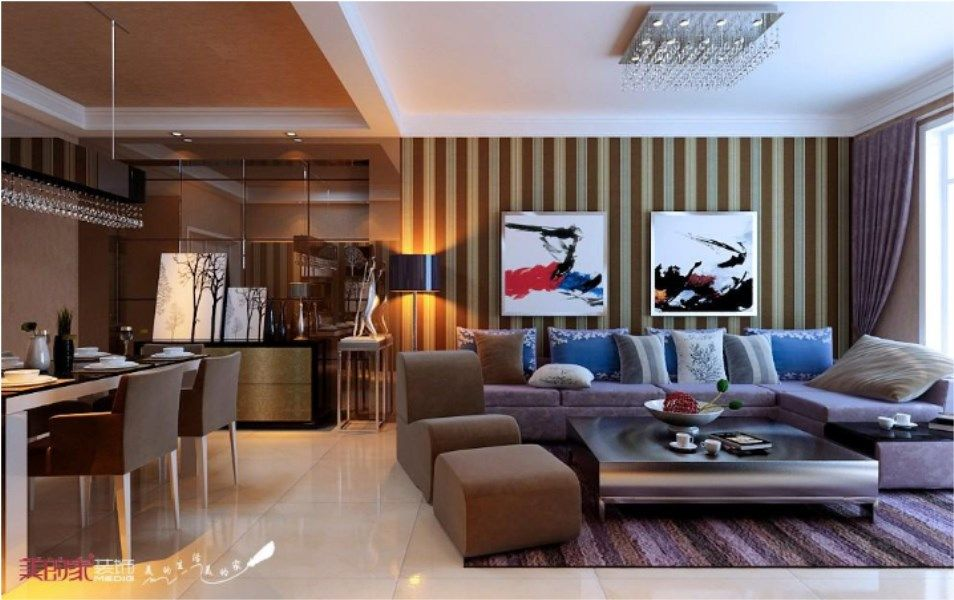 重庆美的家鸿馆装修公司项目案例【美的家装饰】保利江山明珠-—现代风格