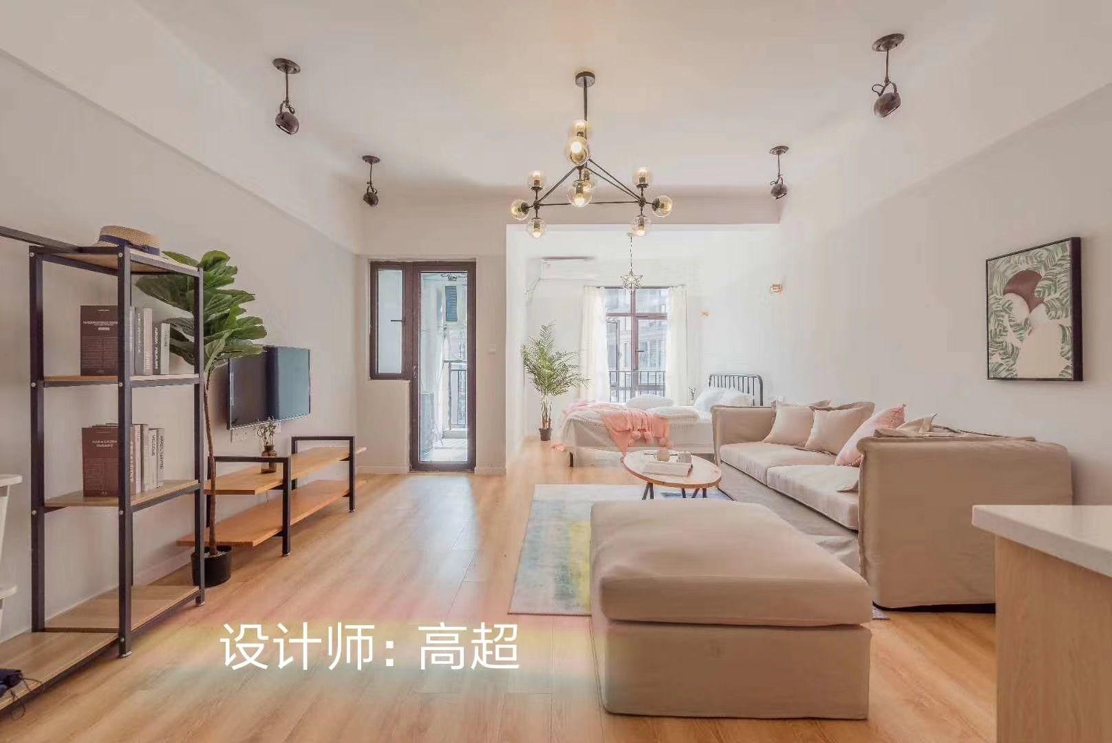 重庆西港装饰公司项目案例单间配套
