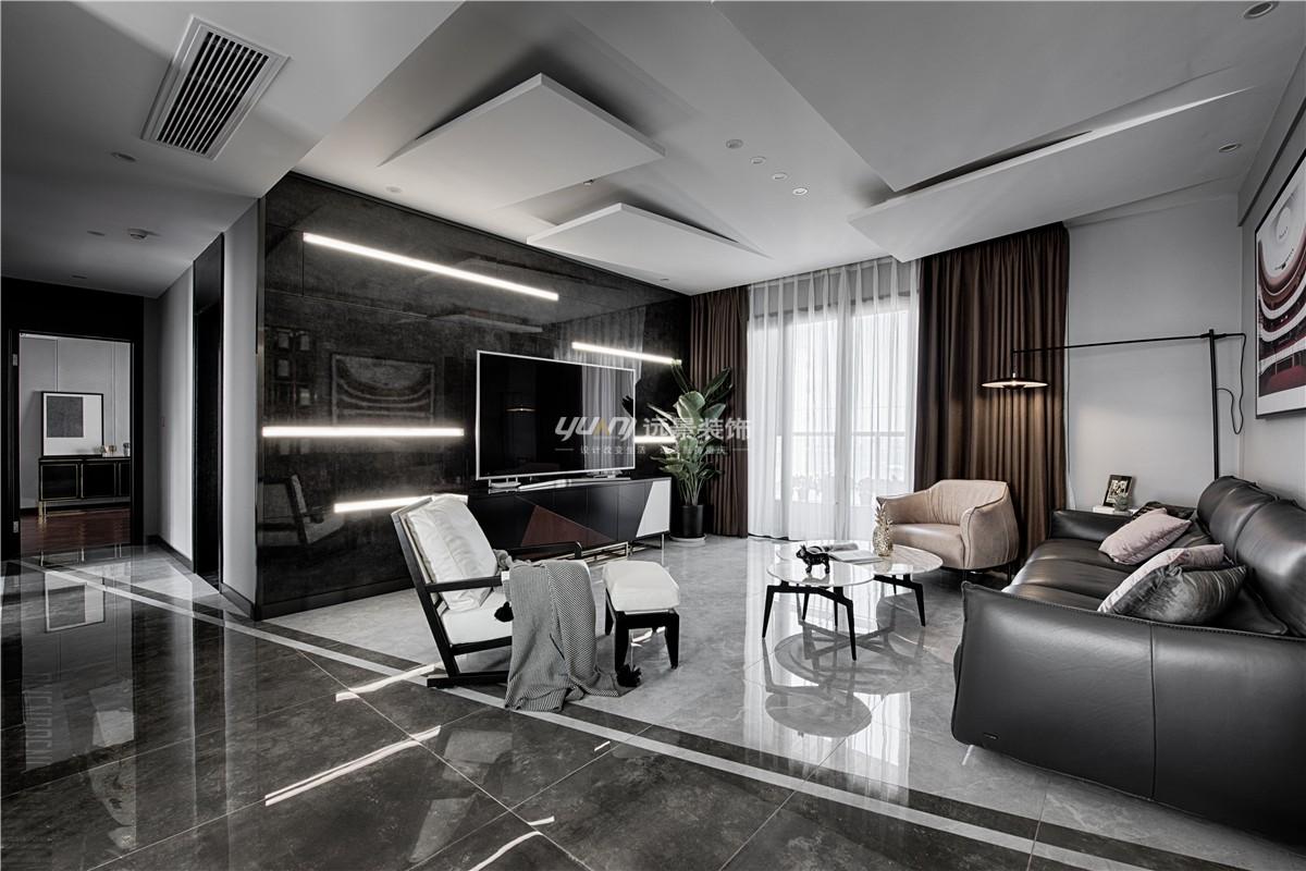 重庆远景装修公司项目案例【远景装饰】-现代轻奢实景图