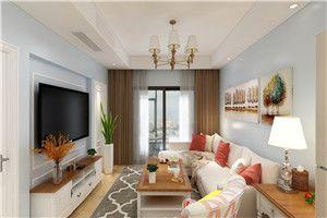 乐尚装奥园越时代美式风格/三室两厅两卫/89/总价:13.8万元