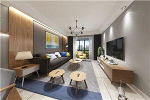 乐尚装饰华润中央公园北欧风格/两室一厅一卫/78/总价:10.8万元