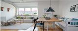 【乐尚装饰】70平米大气工业范复式家 /两室一厅/70/总价:10.5万元