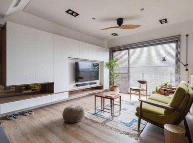 清新北欧风三居室,休闲舒适的惬意空间