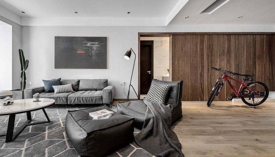 项目案例现代简约细腻柔和的空间质感