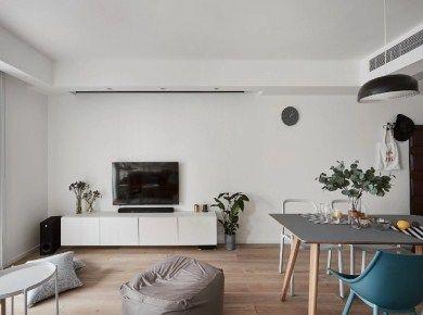 89㎡实用三居室装修设计