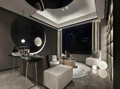 现代黑白灰质感艺术宅