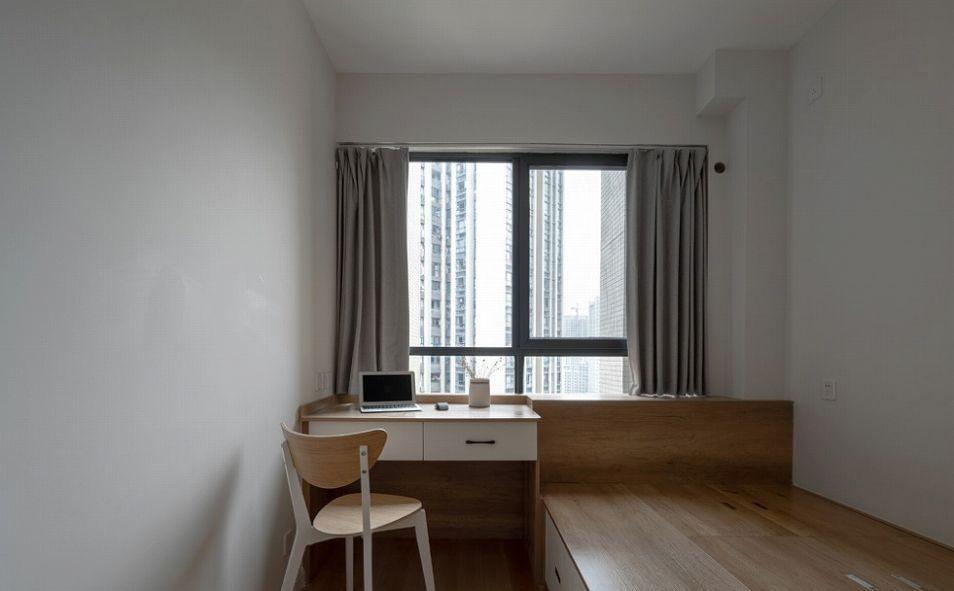 项目案例珠江城爱丽舍80平日式风格