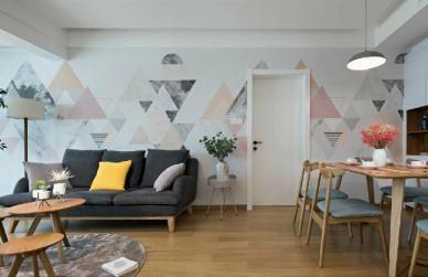 【佳天下装饰】80㎡北欧简约风格二居室