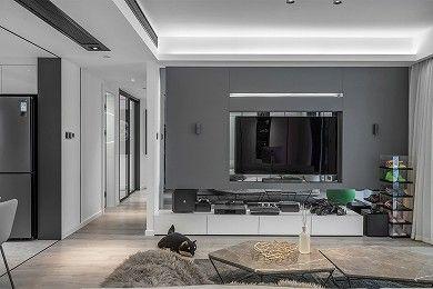 【维享家装饰】保利天汇130平现代简约风/四居室/130/总价:15万元