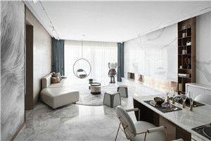 【乐尚装饰】188㎡大平层现代风格鉴赏/4室/188/总价:23万元
