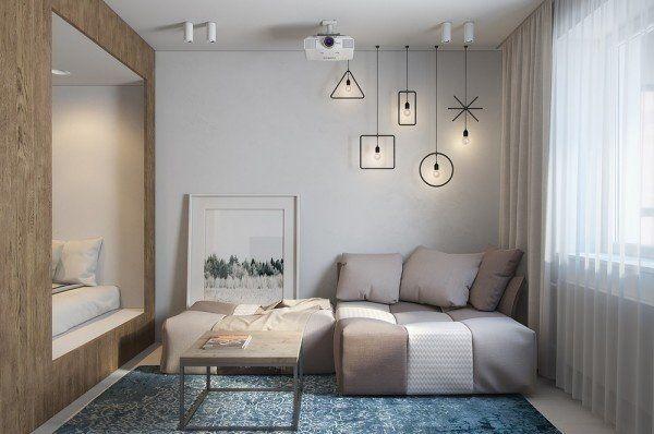 项目案例【佳天下装饰】30㎡单身公寓设计。 