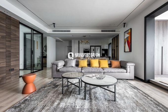 项目案例华润24城4房|现代风格|【俏业家装饰】