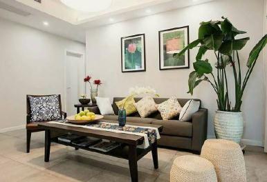 【佳天下装饰】103㎡现代简约风格家居装/三室两卫/103/总价:13.8万元