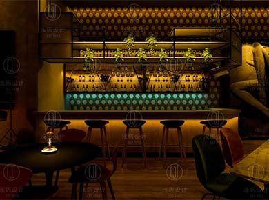 后现代+loft=清风酒吧