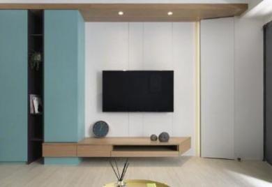 【佳天下装饰】现代三居室,格局规划太好了/三室两卫/103/总价:13.5万元