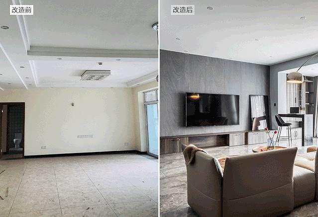 项目案例俏业家●金沙港湾丨十五年老宅改造,高级极